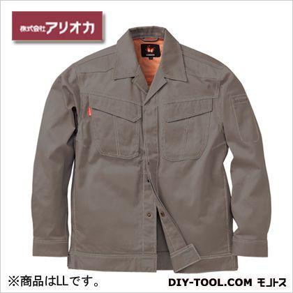 溶接・ 造船 作業着(作業服) 防炎ジャンパー グレー LL MD2000