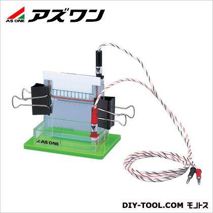 ミニゲルスラブ電気泳動装置  155×105×120mm 2-5021-01 1 個