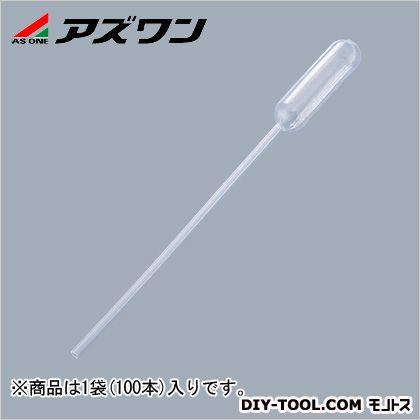 アズワン ポリスポイト 採血用  1ml 1-4653-01 1袋(100本入)