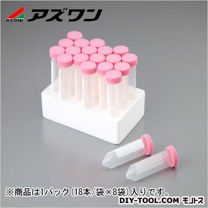 ビオラモ遠沈管 (ラックパック) 50ml (1-3500-12) 1パック(18本/袋×8袋入)
