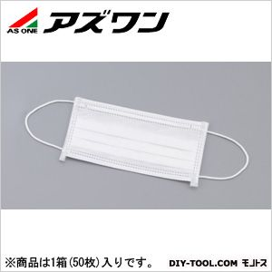 3plyディスポマスク   1-8766-02 1箱(50枚入)