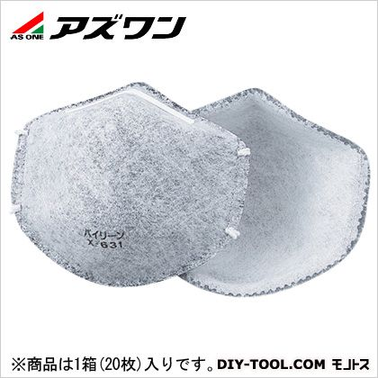 アズワン 簡易マスク   9-030-03 1箱(20枚入)