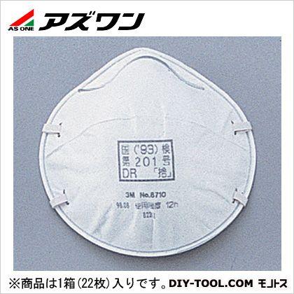 使い捨て式防塵マスク   9-021-01 22枚/箱