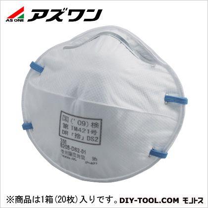 使い捨て式防じんマスク   9-021-06 20枚/箱