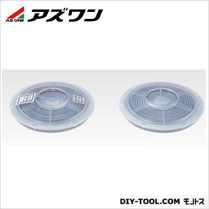 防塵マスクフィルターP2W   1-4554-02 2個1組