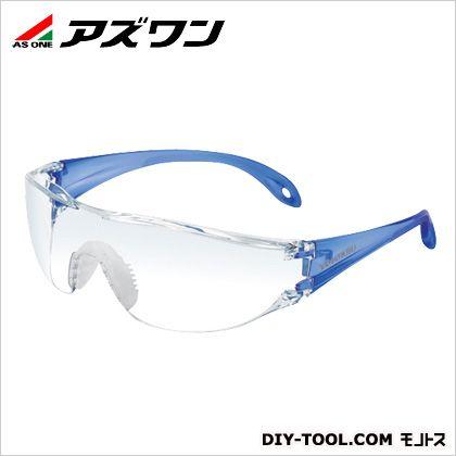 JIS軽量保護メガネ クリア×ブルー (1-3812-11)