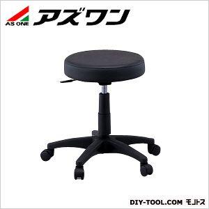 ラウンドチェアDX ブラック (2-8029-01)