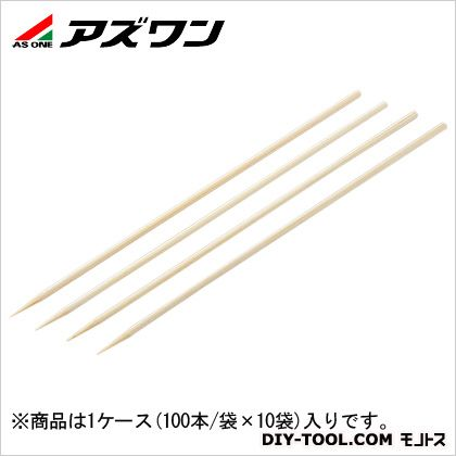 滅菌竹串   1-5980-01 1ケース(100本/袋×10袋)