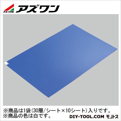 エコノミー粘着マット 白 600×900mm 2-4910-02 1箱(30層/シート×10シート)