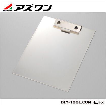 ステンレス製クリップボード  235×320×0.4mm 1-3423-01