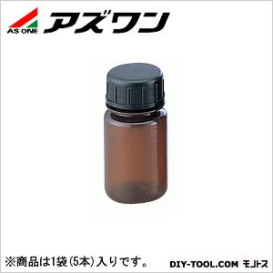 グッドボーイ褐色瓶SCC 褐色 100ml (1-983-01) 1袋(5本入)