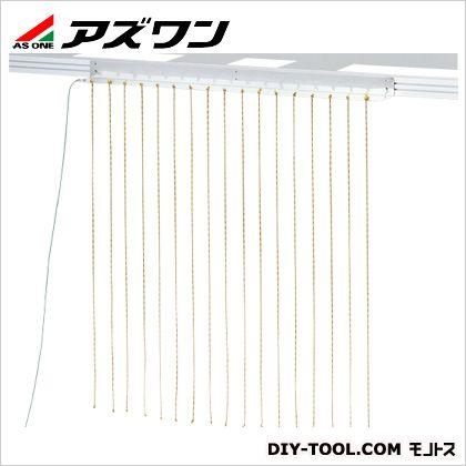 除電ロープ(ノレン) ノレン幅900mm×1m   1-9107-02 1 個