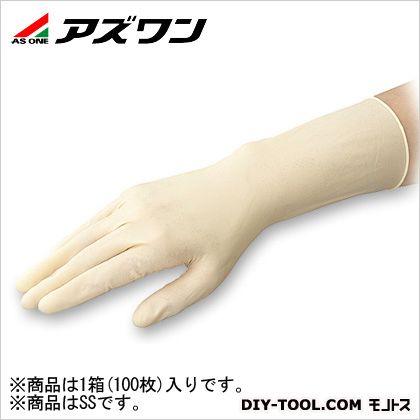 APラテックス手袋SS 指先エンボス SS (1-3911-04) 1袋(100枚入)