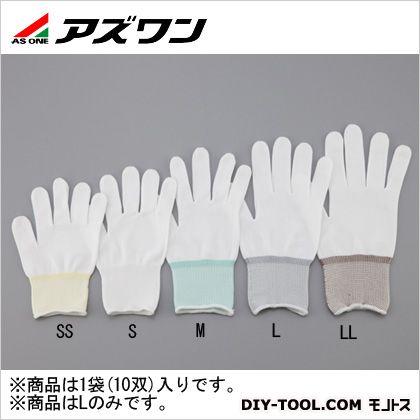 APインナー手袋オーバーロック  L 2-2143-02 10 双