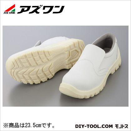 アズワン アズピュア静電安全靴  23.5cm 1-2291-04
