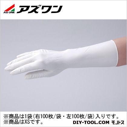 アズワン クリーンノールニトリル手袋ペアー  XS 1-2323-01 1袋(右 100枚/袋、左 100枚/袋)