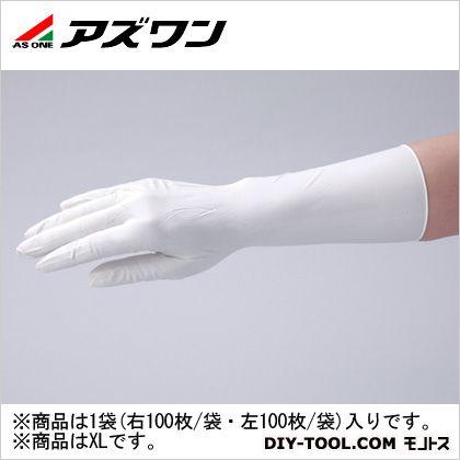 アズワン クリーンノールニトリル手袋ペアー  XL 1-2323-05 1袋(右 100枚/袋、左 100枚/袋)