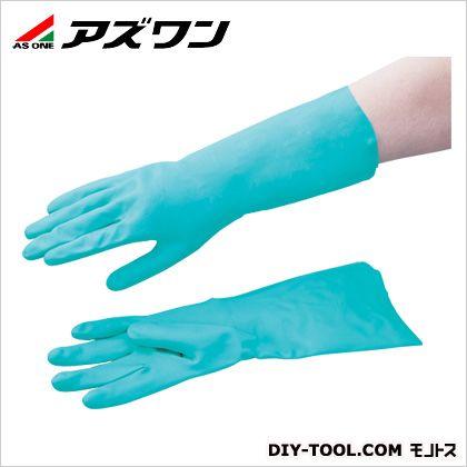 アズワン ゴム手袋(ニトリルゴム)   1-8020-02 1 双