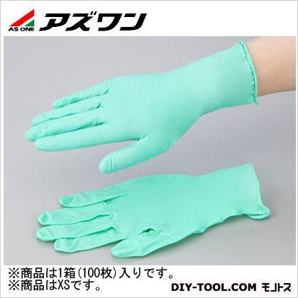 アズワン ネオプレンゴム手袋  XS 1-2578-01 1箱(100枚入)