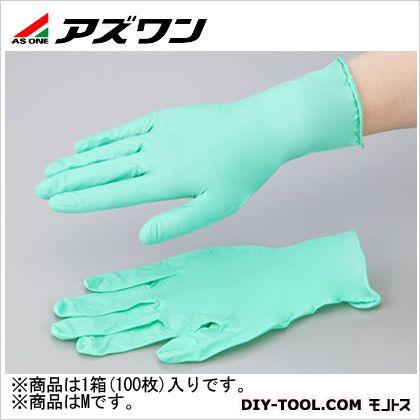 アズワン ネオプレンゴム手袋  M 1-2578-03 1箱(100枚入)