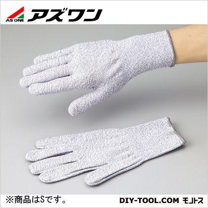 アズセーフ耐切創手袋コーティング無し S (1-242-03)