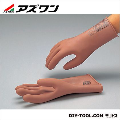 アズワン 低圧用ゴム手袋 中   6-6442-03 1 双