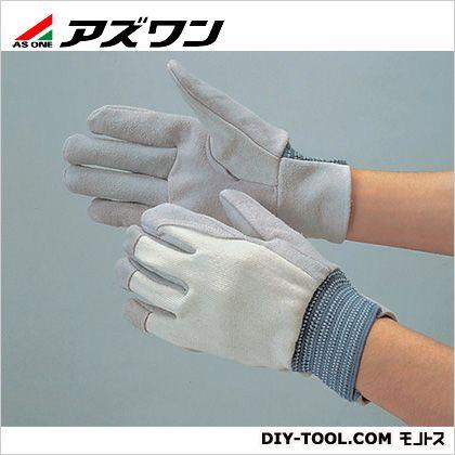 作業用革手袋 背抜き (6-6197-01) 1双