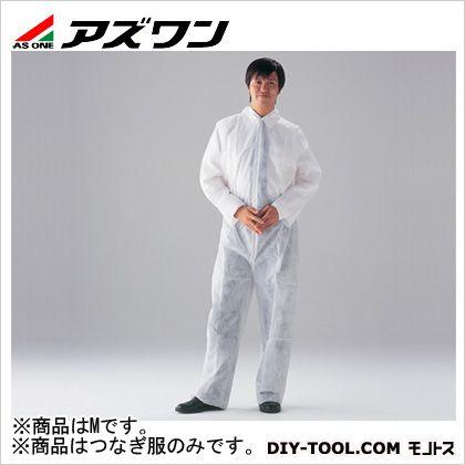 ディスポ不織布製つなぎ服  M 1-7051-02 1 枚