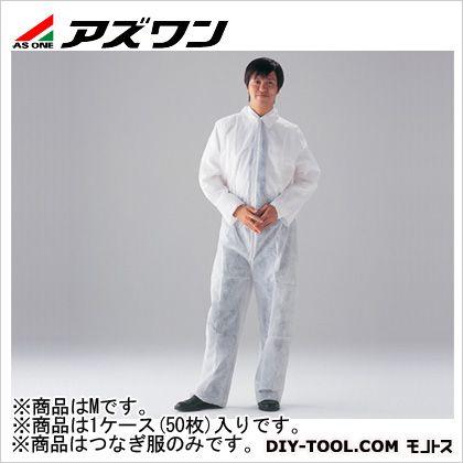 ディスポつなぎ服  M 1-7051-52 1ケース(50枚入)