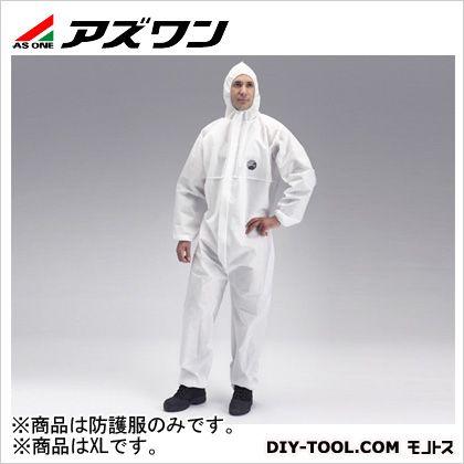 防護服 プロシールド10 白 XL 1-6146-03