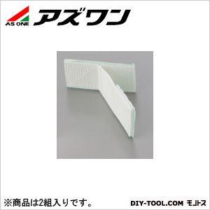 粘着式耐震ベルトTベルト 白 50×100×100mm (1-2796-02) 2組