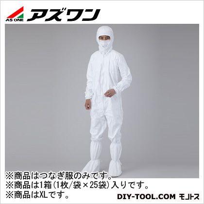 アイソクリーンγ滅菌 カバーオール(つなぎ服)  XL 1-6633-14 1箱(1枚/袋×25袋)