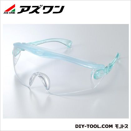 JIS保護メガネ クリスタルグリーン  1-029-01