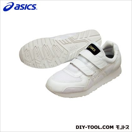 アシックス 静電気帯電防止靴 ウィンジョブ351 0101ホワイト×ホワイト 22cm FIE351.0101 22.0