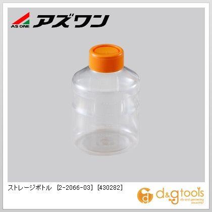 ストレージボトル[430282]丸型  500ml 2-2066-03 1箱(24個)