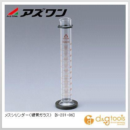 メスシリンダー(硬質ガラス) 100ml (6-231-06)