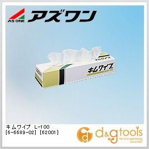 キムワイプ L-100 [62001]   6-6689-02 1ケース(100枚/箱×18箱)