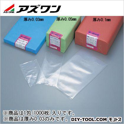 アズワン ポリ袋  90×200mm 6-629-03 1包(1000枚入)