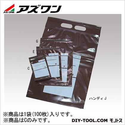 アズワン ユニパック 茶遮光  8-3329-01 1袋(100枚入)