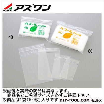 パコールチャック袋 (1-8196-08) 1袋(100枚入)