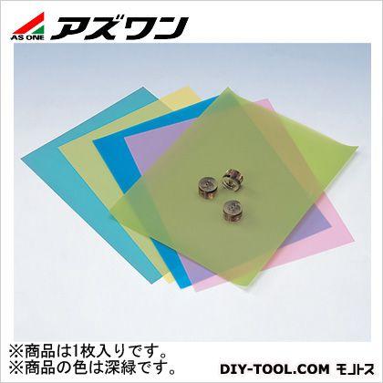 3Mラッピングフィルムシート研磨材 深緑 216×280mm 2-7697-08 1 枚
