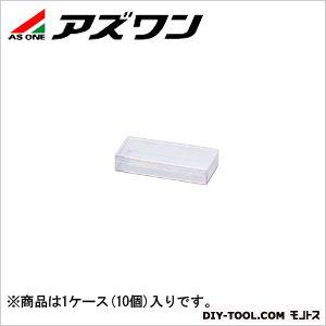 アズワン スチロール角型ケース 透明  5-066-20 1ケース(10個入)