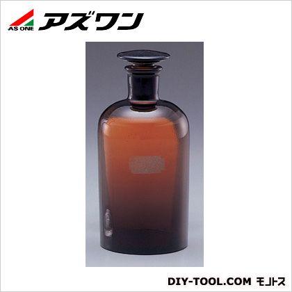 細口共栓瓶 茶 500ml 1-4394-05 1 個