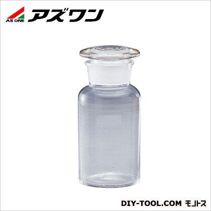 広口共栓瓶 白 1000ml (1-4391-06) 1個