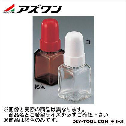 スポイド瓶 角型 褐色 10ml 5-135-01 1 個