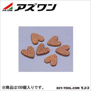 アンプル管 アンプルカッター ハート型 白  5-124-12 100 個