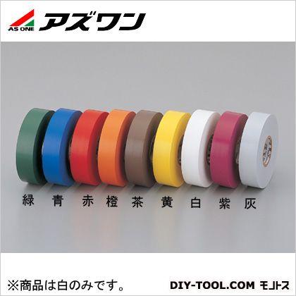 ビニルテープ No.35 白 19mm×0.18mm×20m 2-1494-07