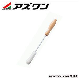 スポンジブラシ(木柄)試験管用 (4-057-01) 1本