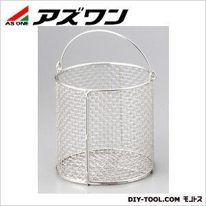 ステンレス丸型洗浄カゴ φ150×150mm (1-3450-01)