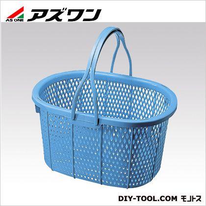 手提げバスケット丸型  400×290×220mm 1-7457-01
